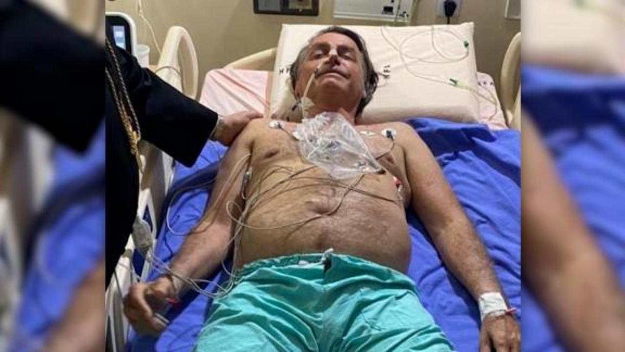 Bolsonaro posts picture of himself from hospital bed