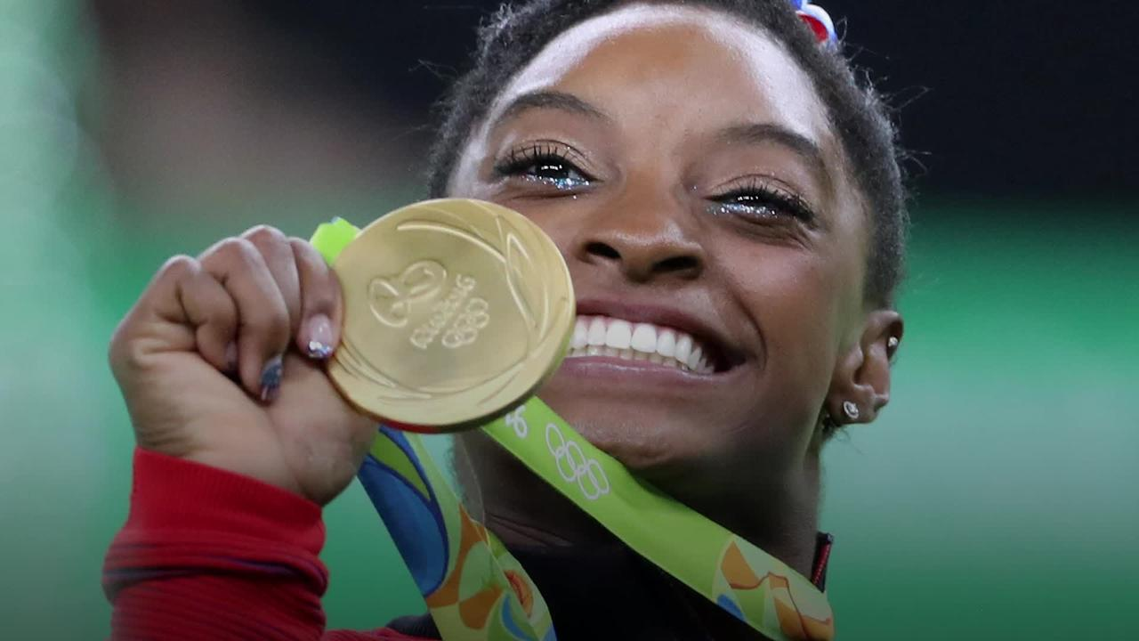 Simone Biles boards flight to Tokyo Olympics alongside Team USA