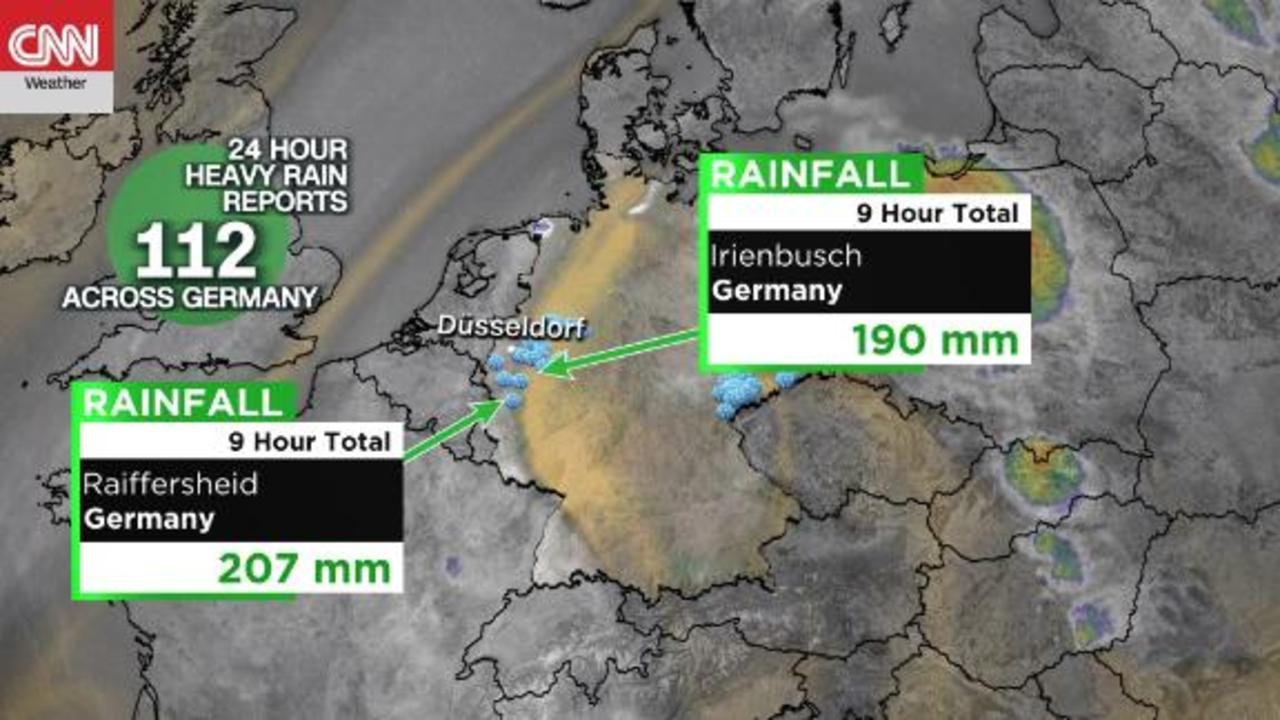 Deadly flooding hits Germany