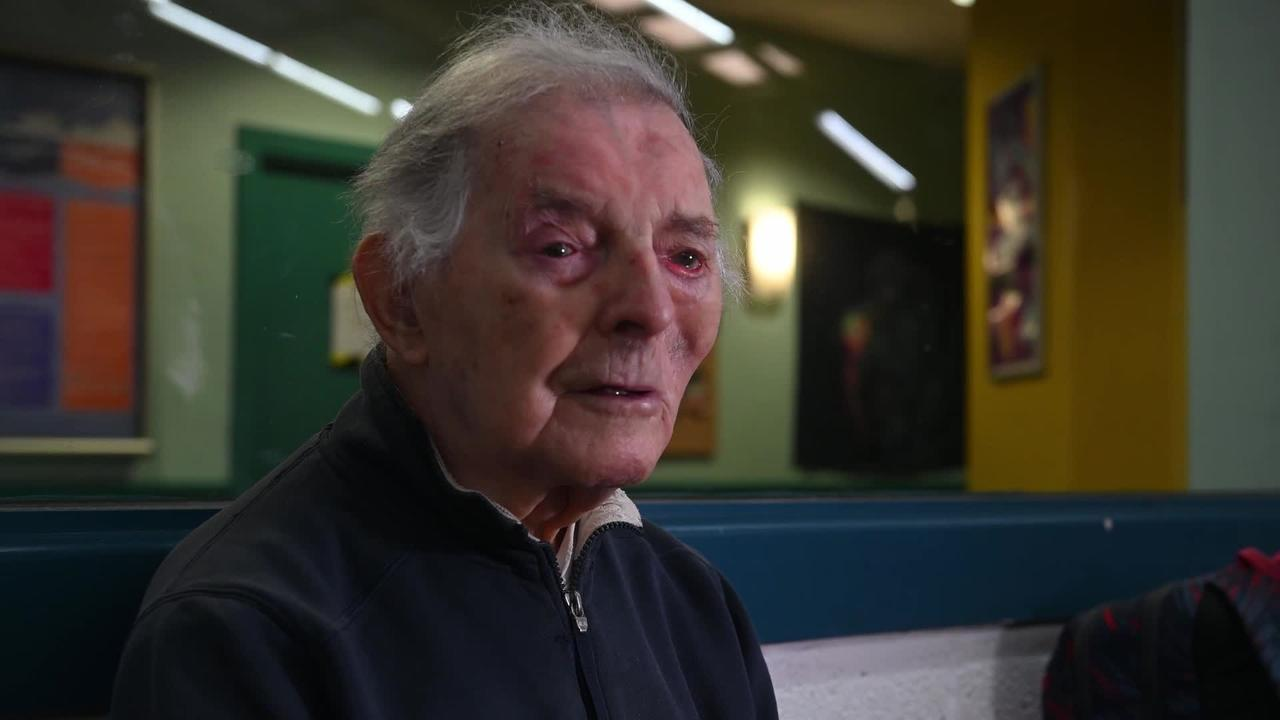 Meet UK's oldest amateur tennis player who's still serving at the age of 100