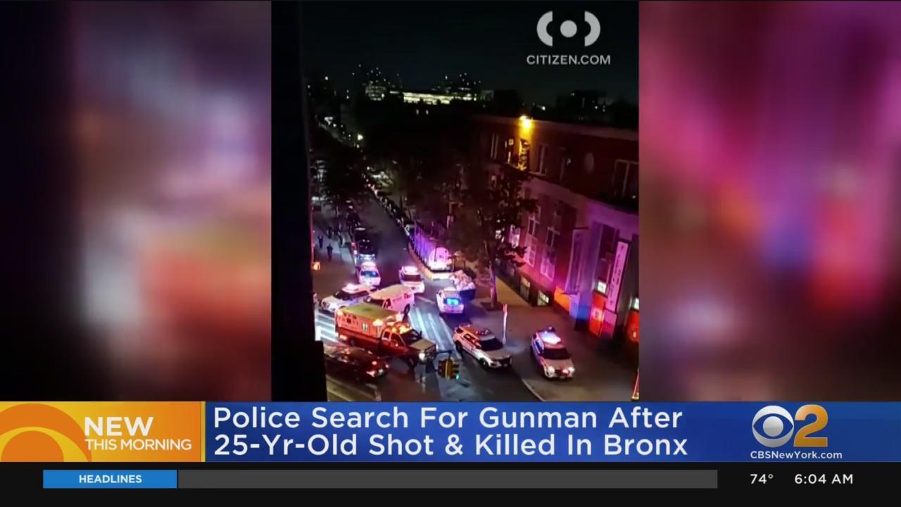 Man, 25, Shot Dead In The Bronx
