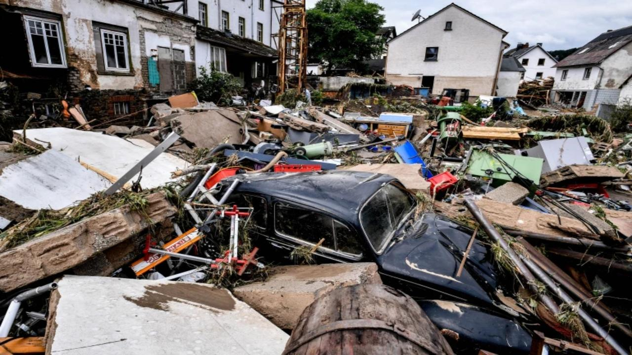 At least 33 killed as heavy rains batter western Germany