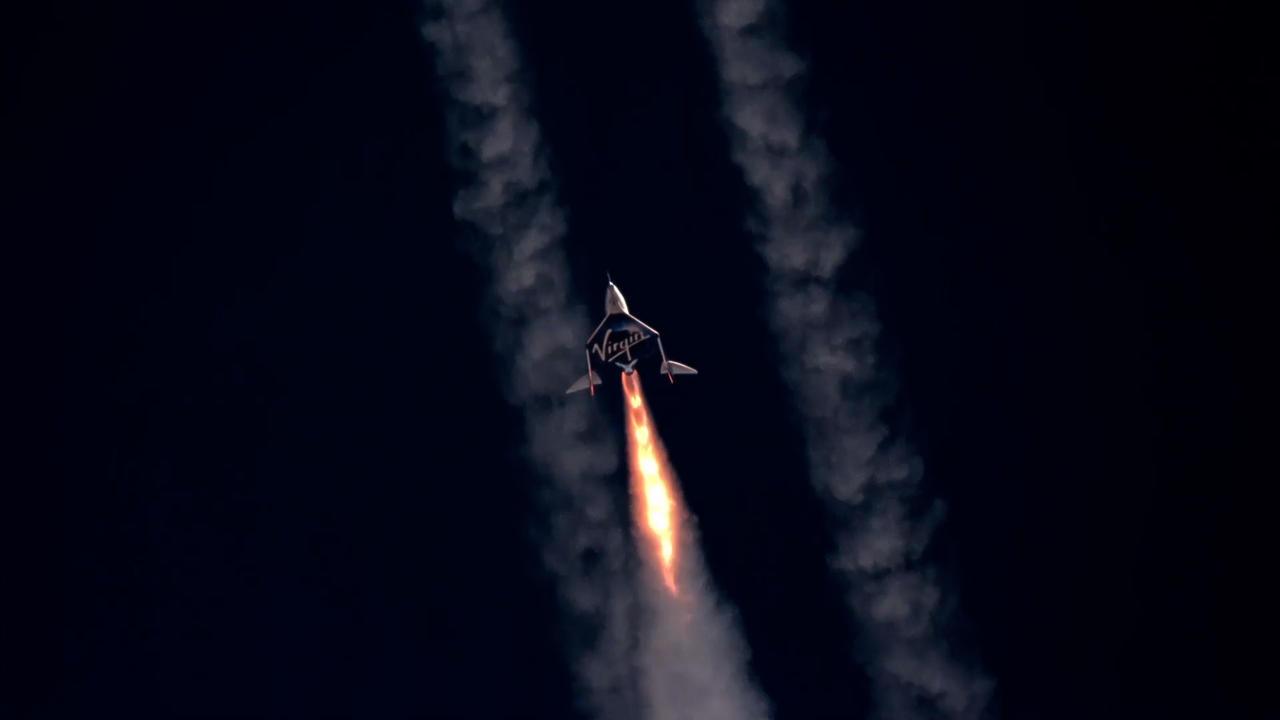 Le vol spatial de Virgin Galactic est un franc succès