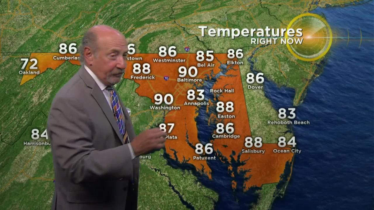 Marty Bass Has Your Thursday Afternoon Weather
