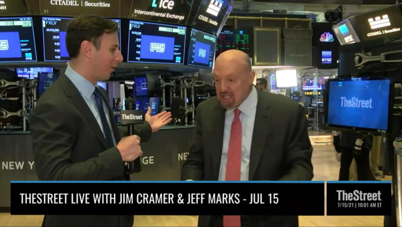 TheStreet Live Recap: Everything Jim Cramer Is Watching 7/15/21