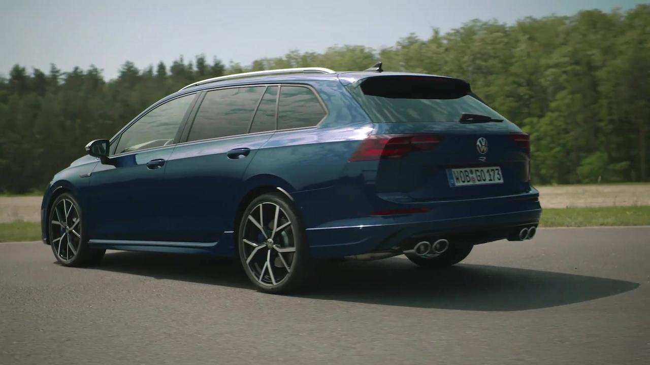 The new Volkswagen Golf R Variant Exterior Design