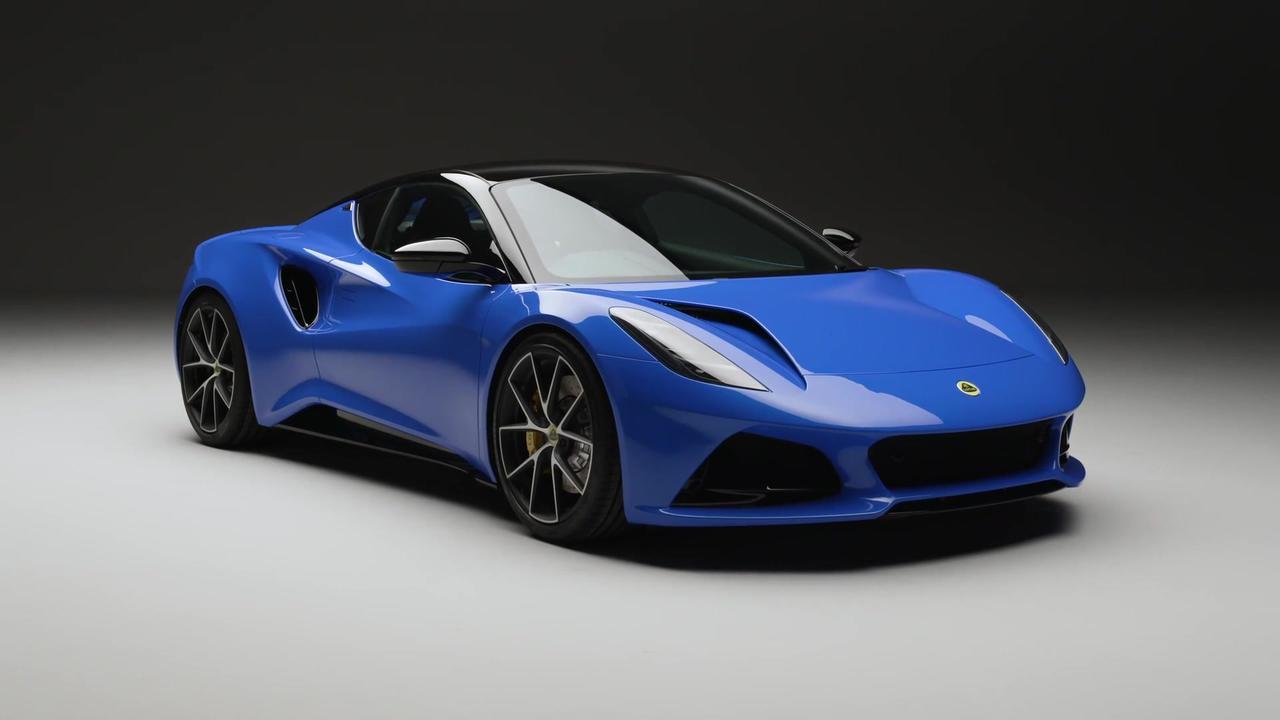 The new Lotus EMIRA Exterior Design