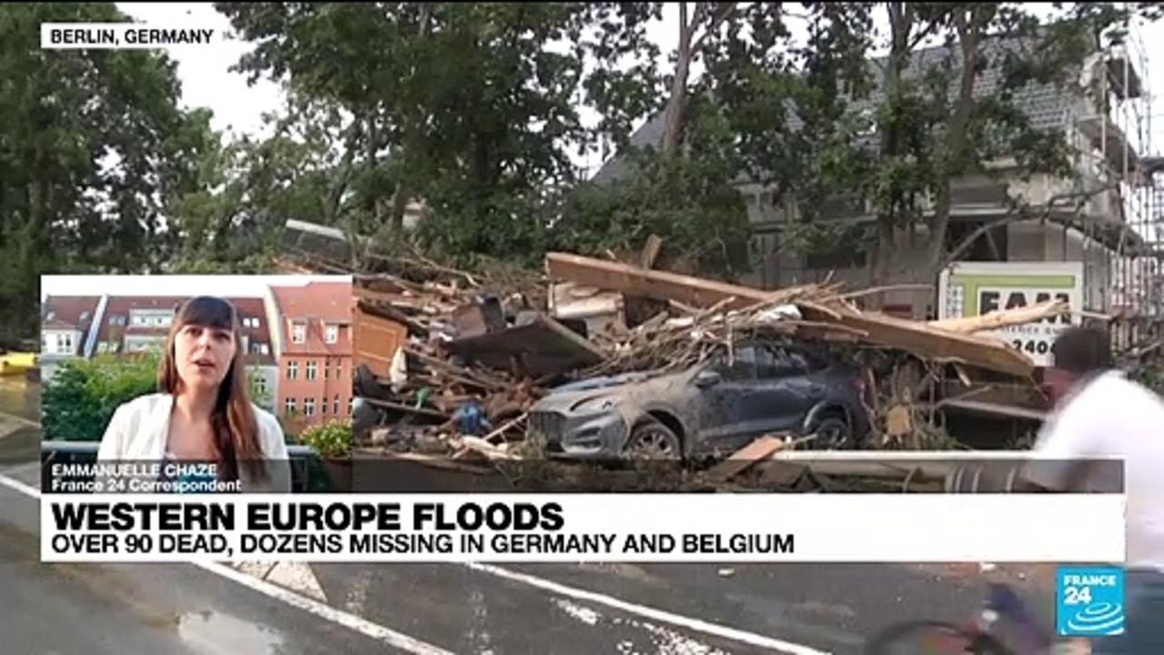 Over 90 dead, dozens missing in Germany and Belgium