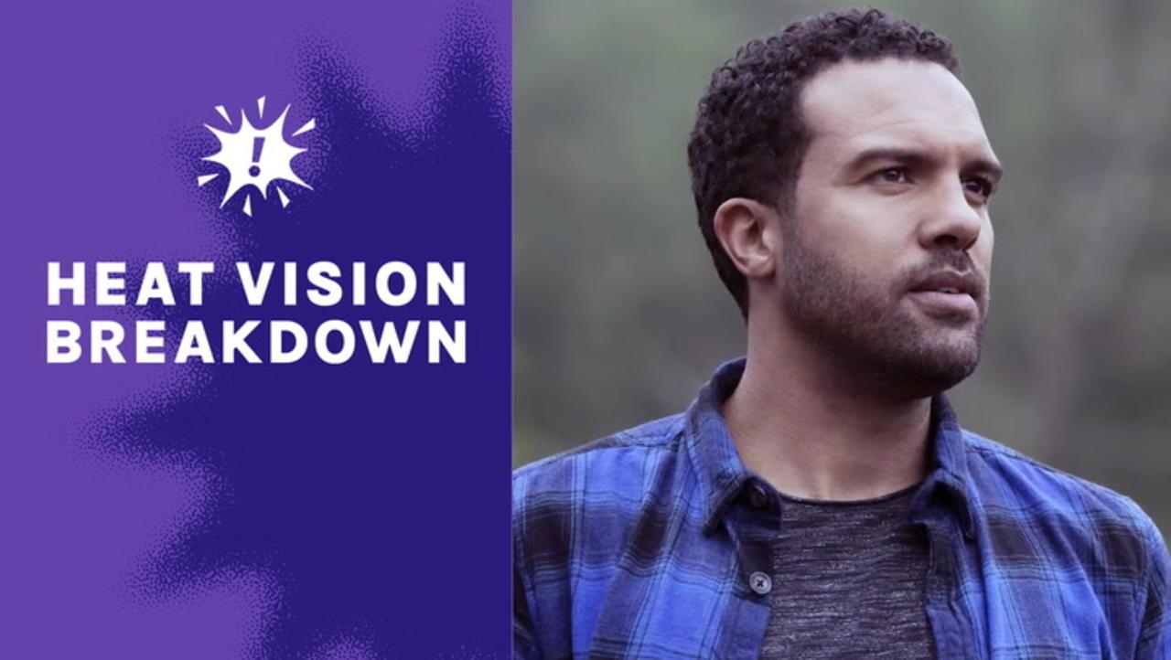 'Black Widow' Star O-T Fagbenle Talks Scarlett Johansson and Filming That Final Scene | Heat Vision Breakdown