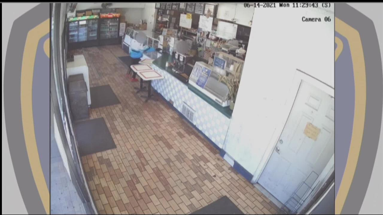 RAW: Surveillance Video of Armed Robbery at San Francisco Donut Shop