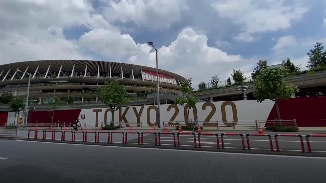 Tokyo residents give their thoughts with one week to Games