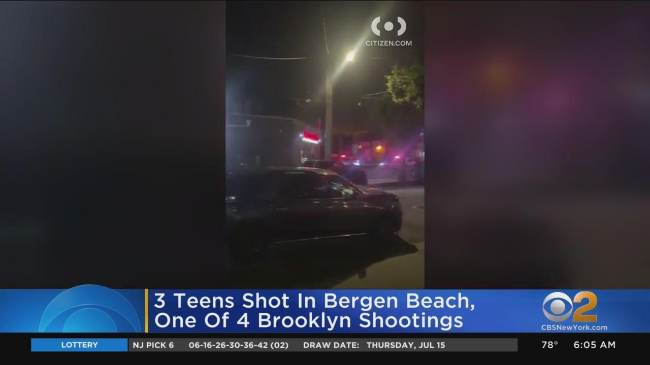 3 Teens Shot Outside Brooklyn Pizzeria