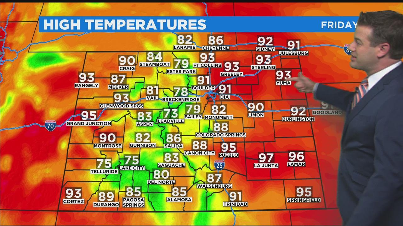 Typical Summer Heat This Weekend
