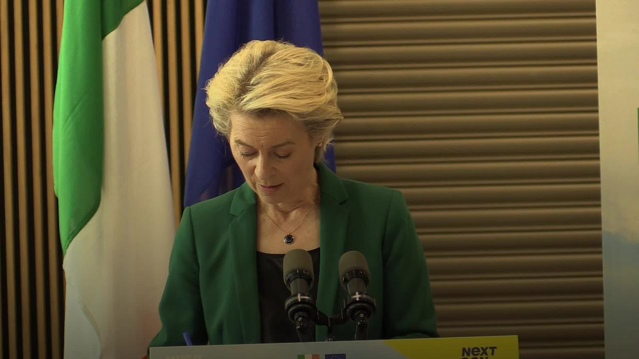 NI protocol 'the solution not the problem' says EU Commission chief