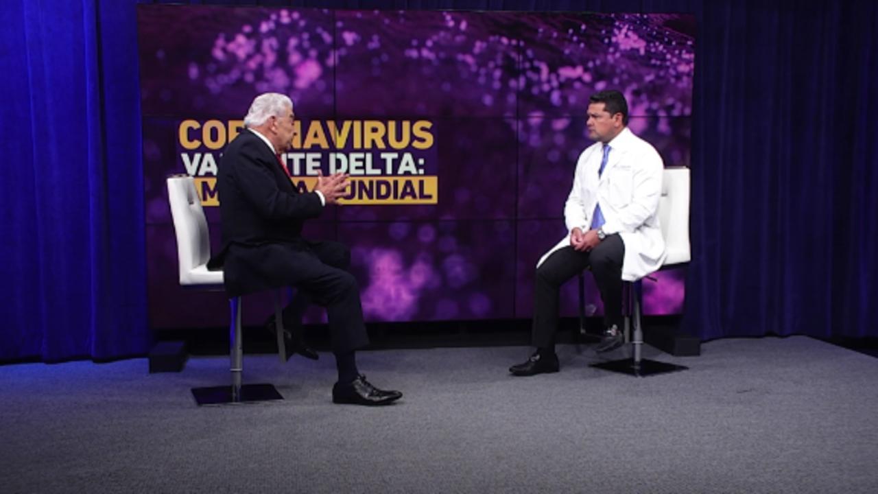 CNN presenta Coronavirus variante delta: amenaza mundial