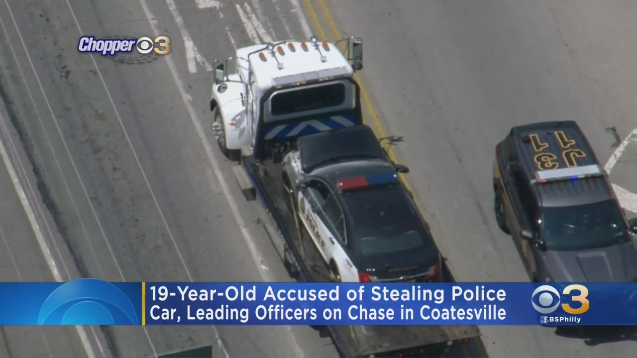 19-Year-Old Charged After Stealing Chester County Police Car, Leading Chase