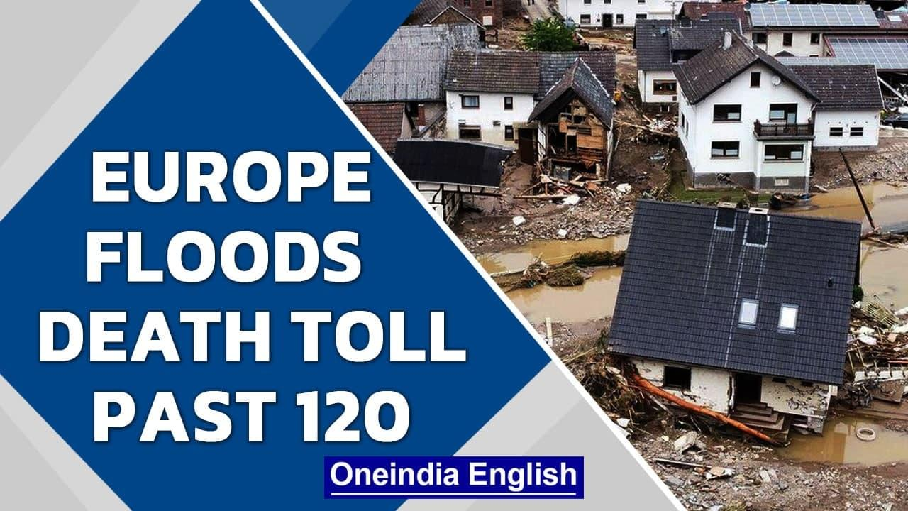 Europe floods: Over 120 dead in Germany & Belgium, hundreds still missing   Oneindia News