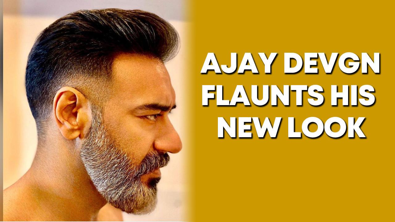 Ajay Devgn gets a new haircut, sports salt and pepper look