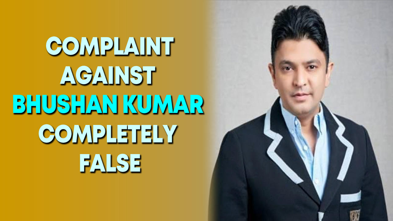 Complaint against Bhushan Kumar completely false and malicious: T-Series