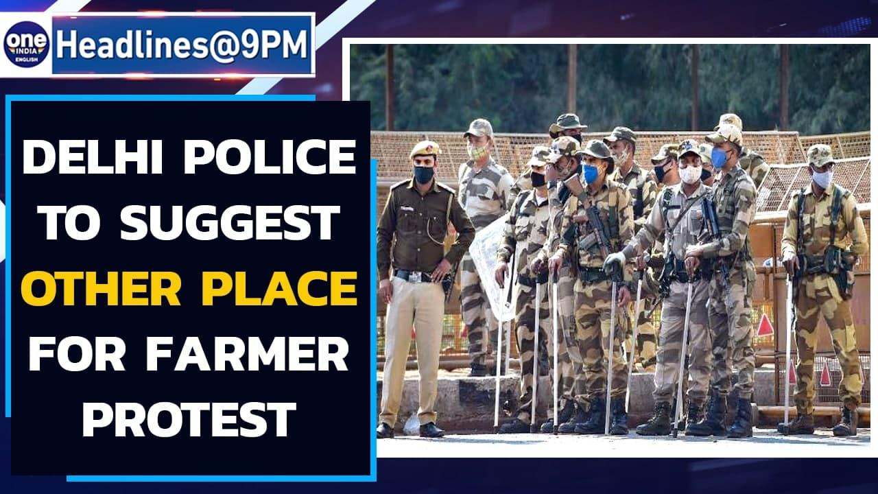 Delhi Police to meet farmers to suggest alternative venue for their protest | Oneindia News