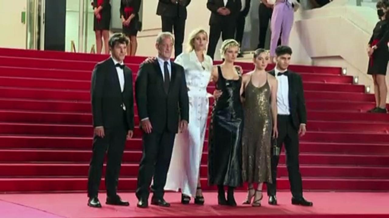 Ducournau wins Palme d'Or at Cannes film festival for film 'Titane'