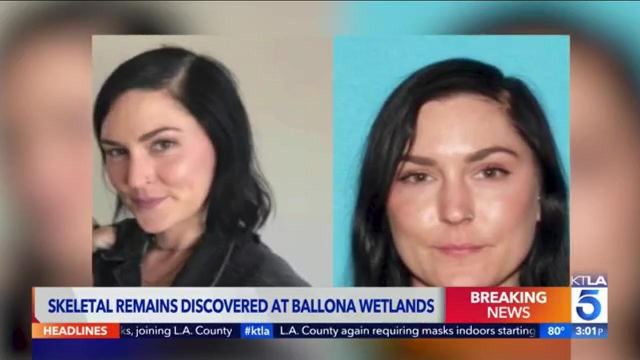 Skeletal remains found as investigators search California marsh for 32-year-old woman who vanished in 2020