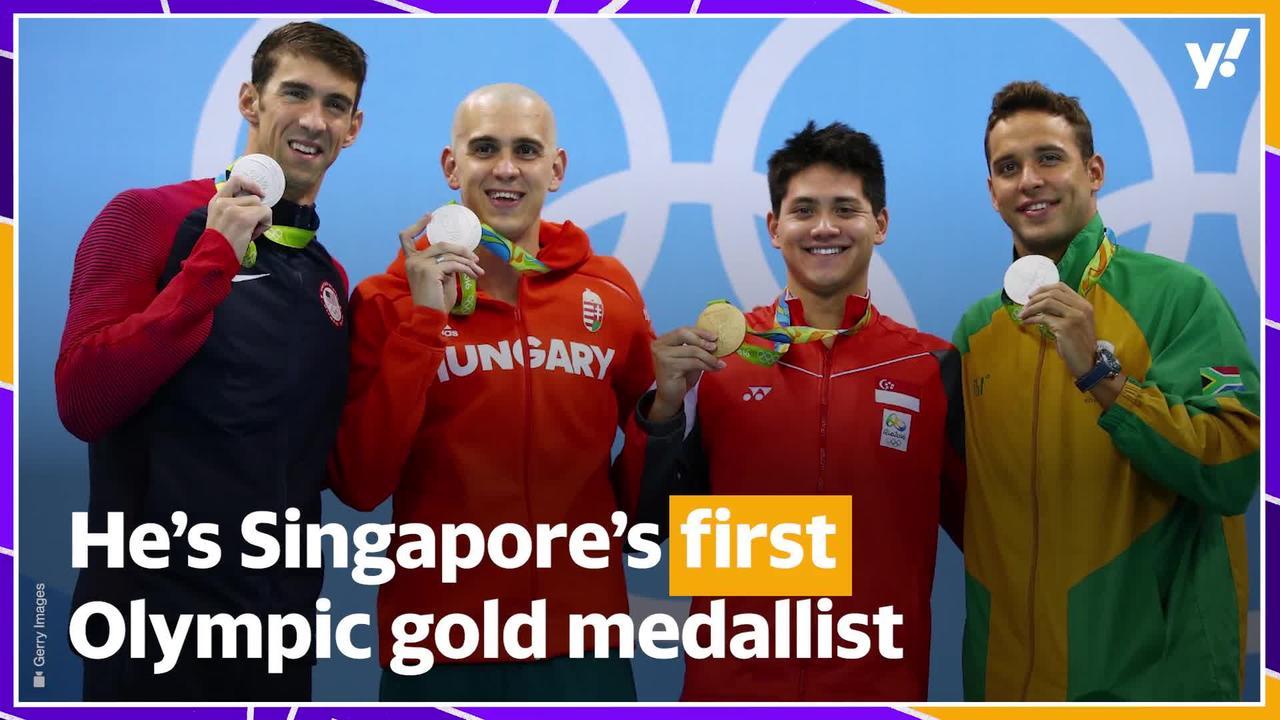Raising the Singapore boy who beat his Olympic idol Michael Phelps