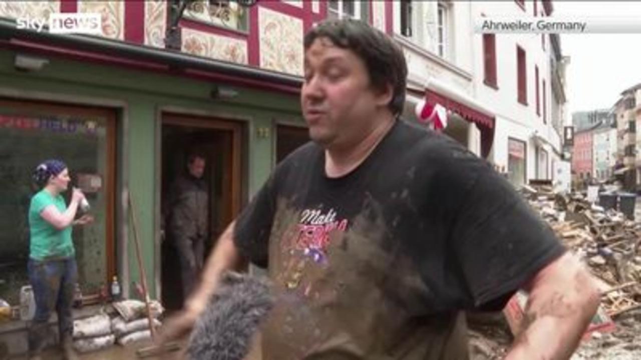 Western Europe struck by 'deadly floods'