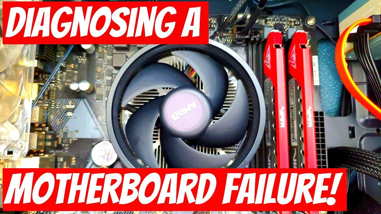 Hot to repair a dead computer: Diagnosing a motherboard failure