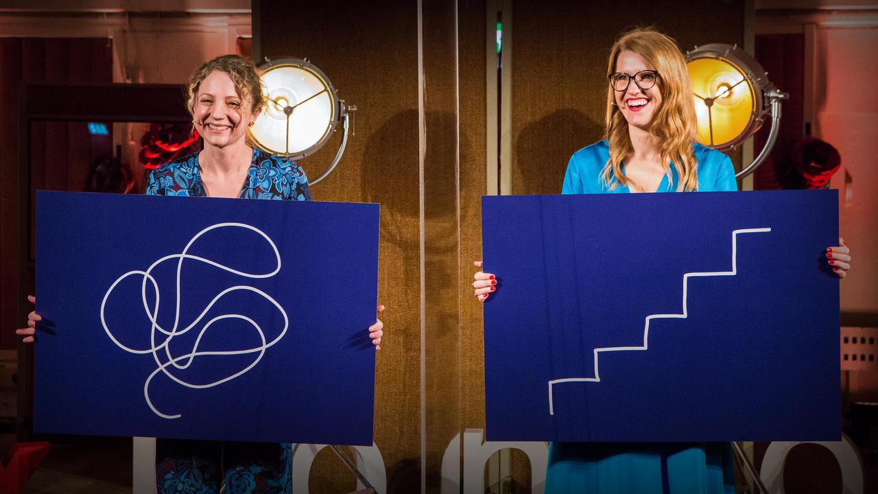 The best career path isn't always a straight line | Sarah Ellis and Helen Tupper