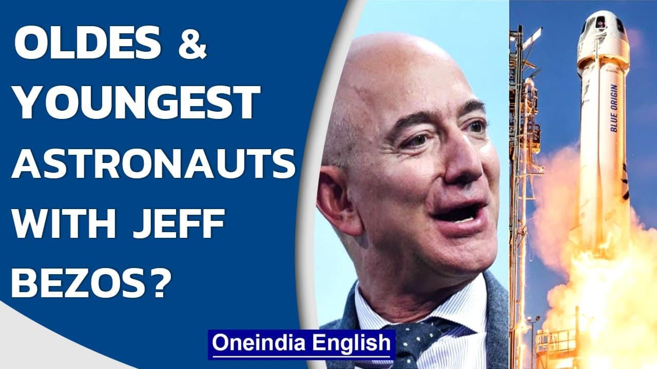 Jeff Bezos to go into space with brother Mark Bezos and 2 others | Blue Origin | Oneindia News
