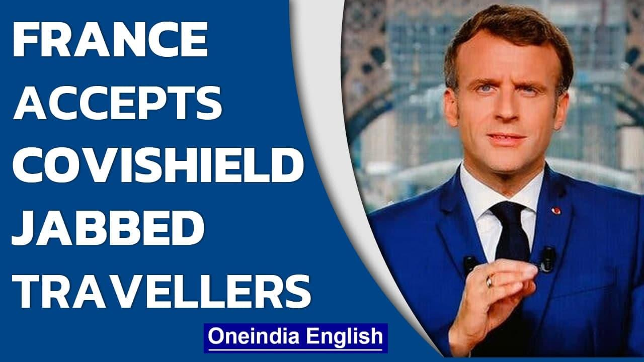 French Government allows Covishield-jabbed travellers into the country   AstraZeneca   Oneindia News