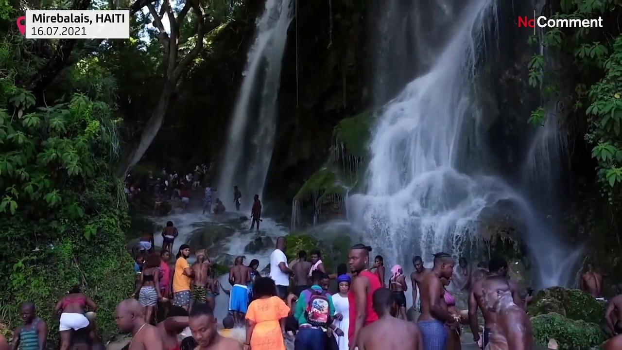 Voodoo, Catholic pilgrimage in Haiti amid instability