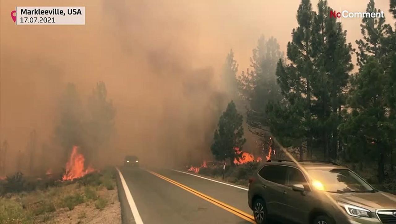 Major California fire prompts evacuations