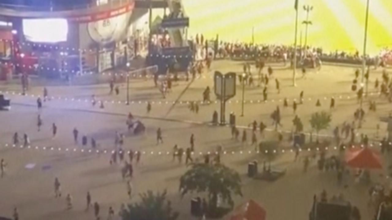 Baseball fans flee stadium after gunshots heard