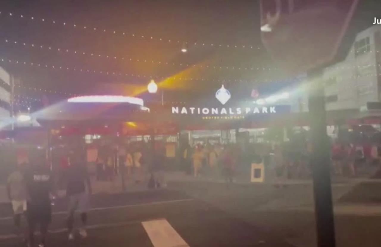 Several shot near baseball stadium in Washington D.C.