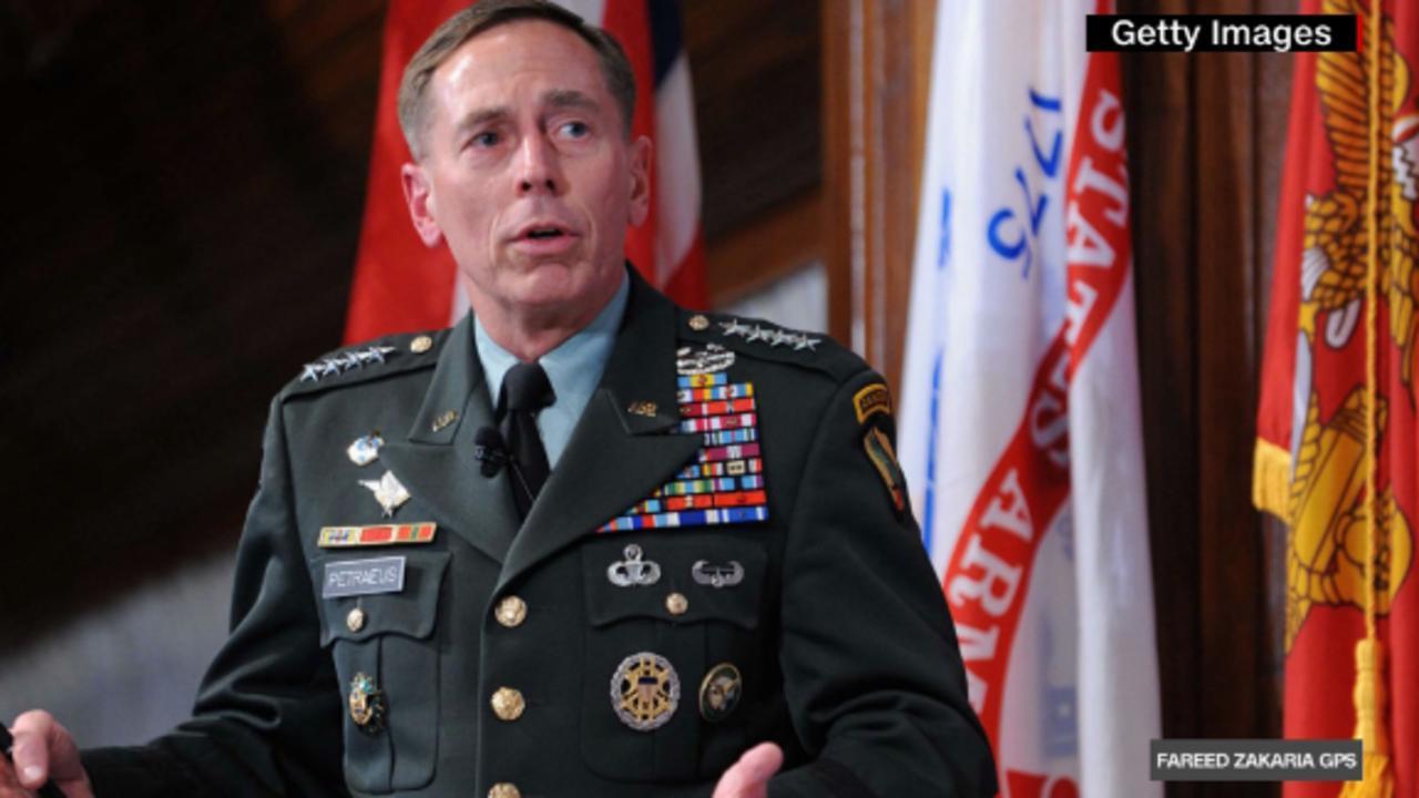 On GPS: Gen. Petraeus on Afghanistan withdrawal