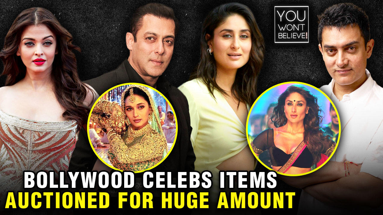 10 Iconic Bollywood Items That Were Auctioned For A Whooping Amount