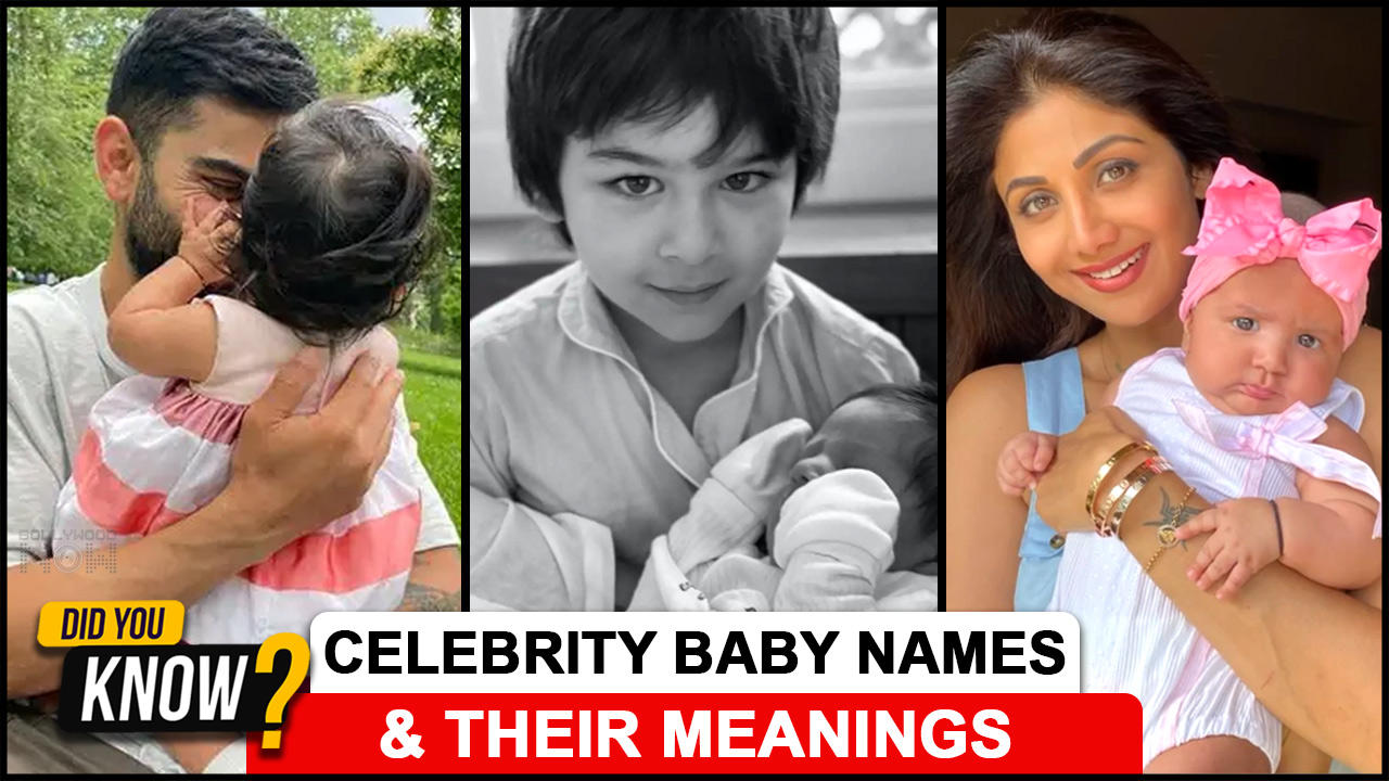 Celebrity Babies & The Meaning Behind Their Names | Taimir, Jeh, Vamika, Samisha| Did You Know ?