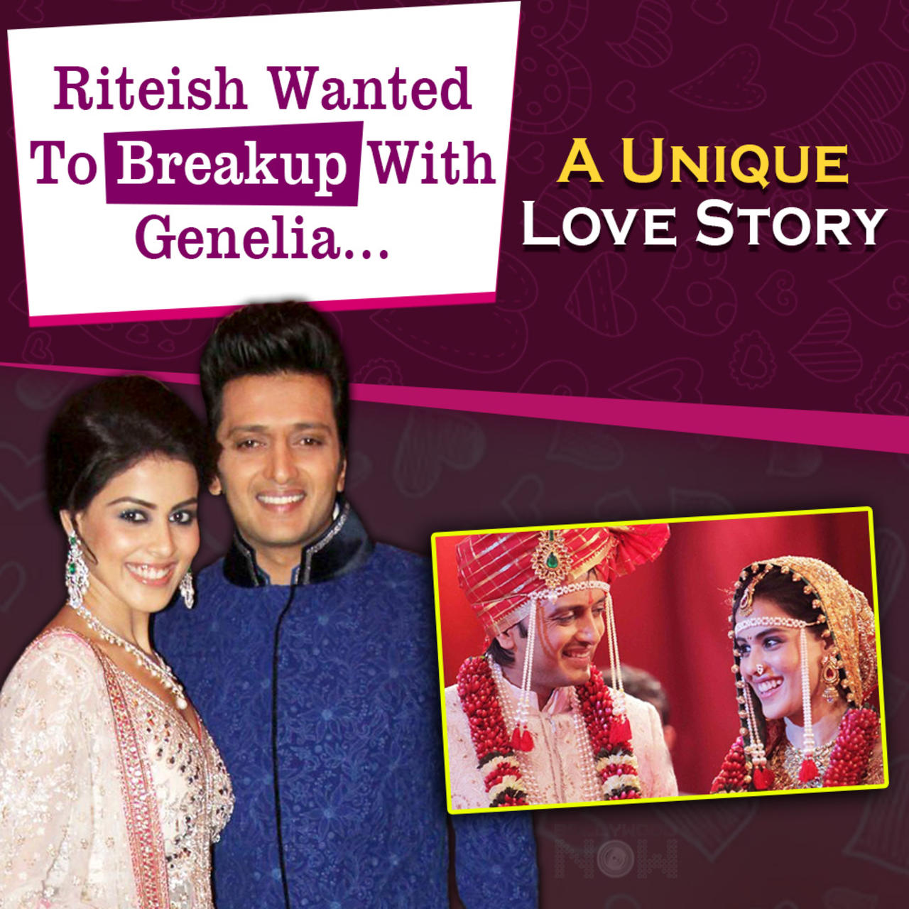 Riteish Deshmukh & Genelia Got Married Twice   A Different Love Story   First Meet To A Happy Family