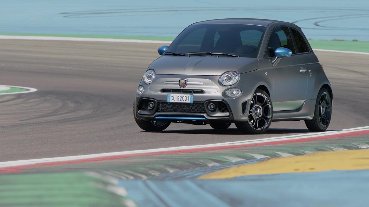 New Abarth F595@Imola Circuit Video