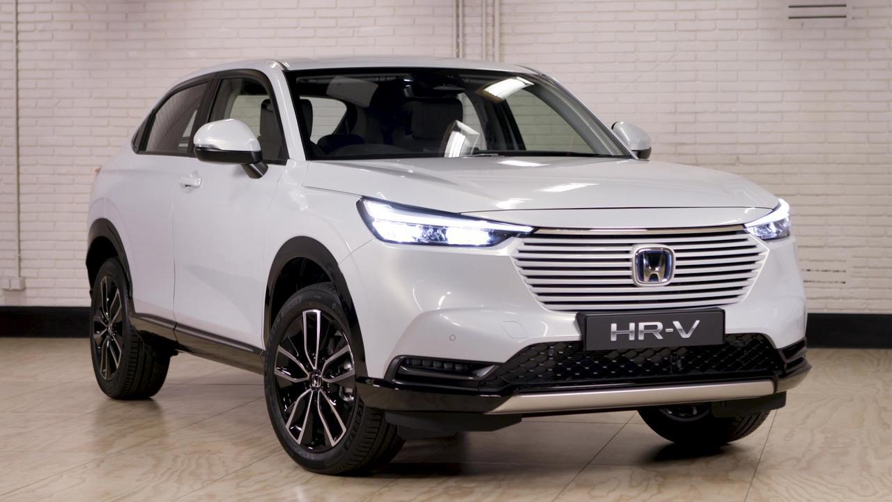 Honda HR-V e:HEV Exterior Design