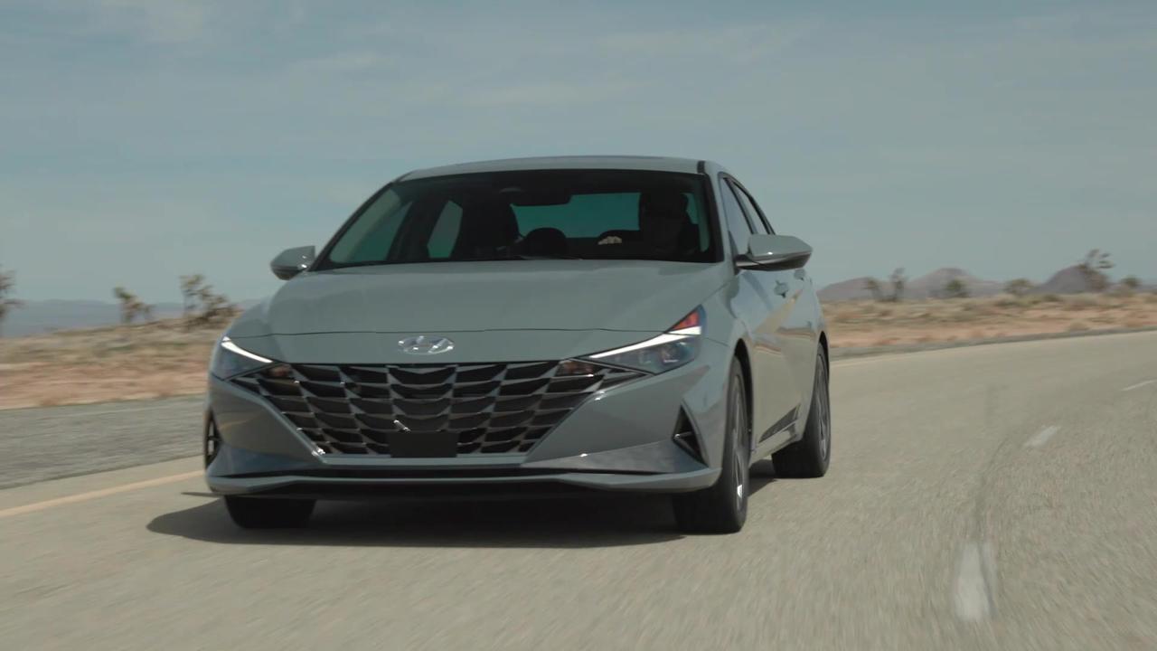 2022 Hyundai Elantra N Line Driving Video