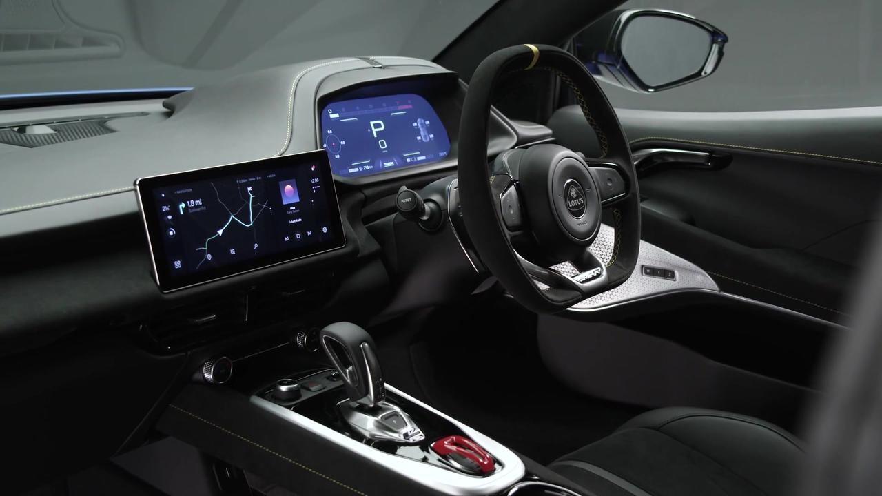 The new Lotus EMIRA Interior Design