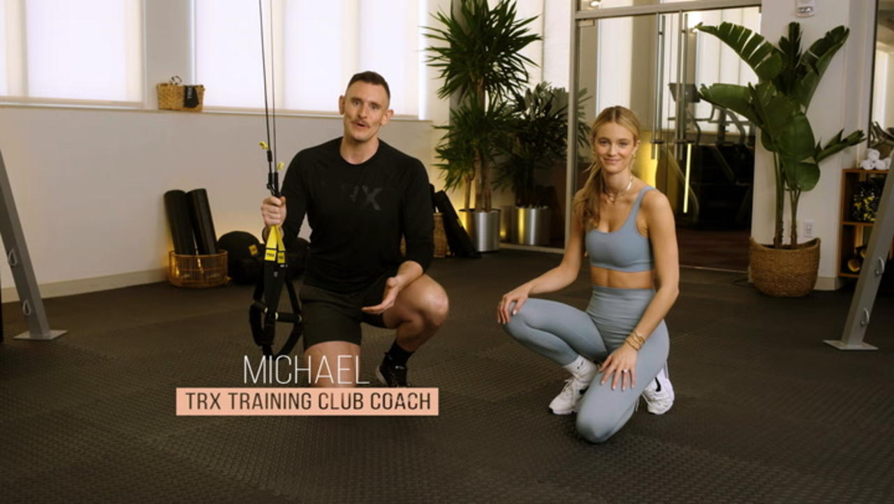 Five Moves To Workout Your Core With TRX Straps