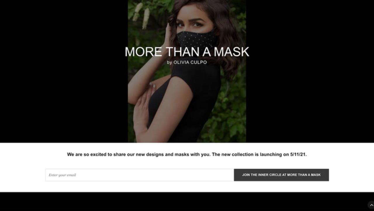 Olivia Culpo's More Than a Mask Line