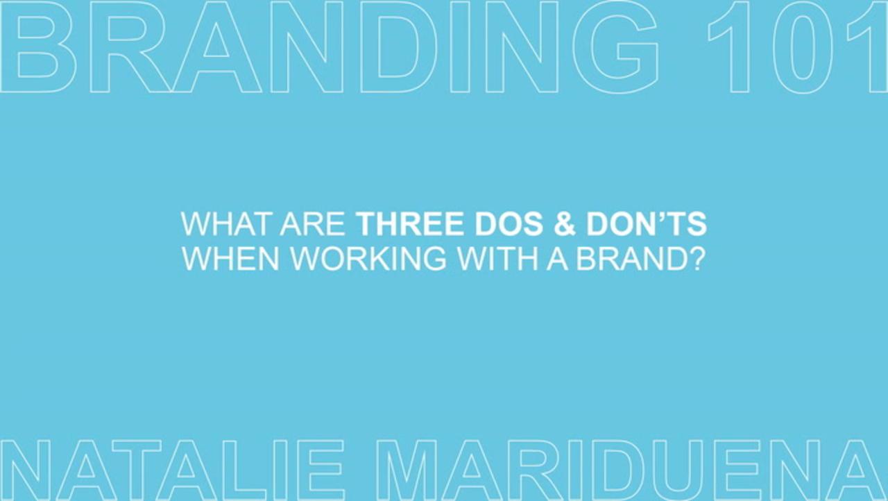 Branding 101 with Natalie Mariduena Ep 3 of 7