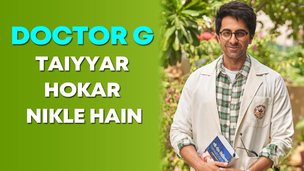 Ayushmann Khurrana shares first look of 'Doctor G'