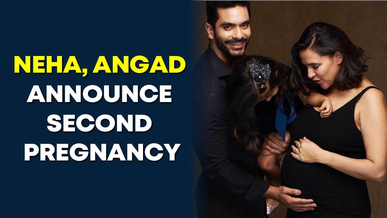 Neha Dhupia, Angad Bedi announce second pregnancy