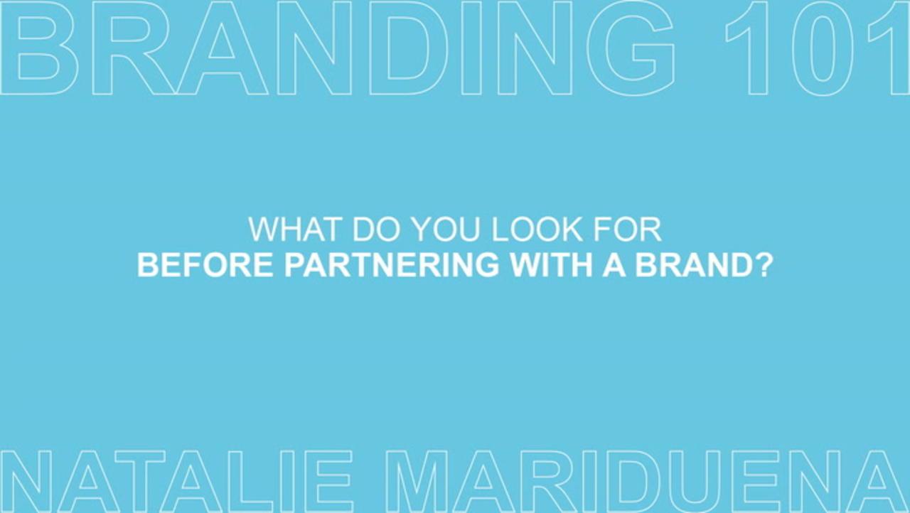 Branding 101 with Natalie Mariduena Ep 5 of 7